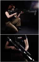 Mass Effect M-98 Black Widow by Arashi-no-Tori