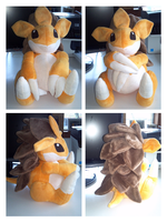 Sandslash plush by LRK-Creations