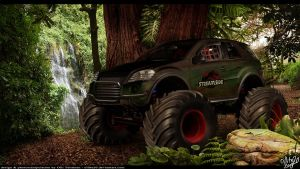 "Streamside W164 ""T-REX"" by ollite20"