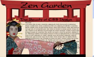 WIP_css-zen garden layout by Stacey1mb
