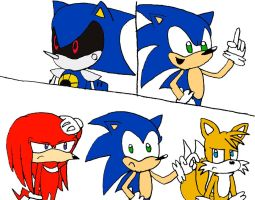 The Sonic Heroes Line by RocketSonic