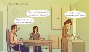 Tumblr 1 - Snape's Parents by julvett