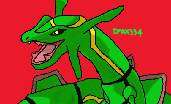 Rayquaza by Drax334