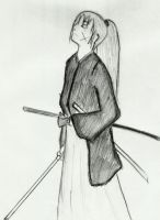 Himura Kenshin by Andrew-Stealfh