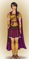 Praetor of New Rome by Isuani