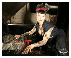 Road Devils Car Club GAL by vivavanstory