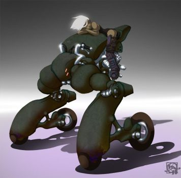 Jump Cycle Scout by HundredHands