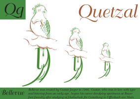 Typo Quetzal by MissPinks