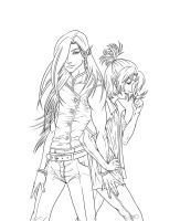 Eisen and Allen Uncolored (2013) by LAN0RA