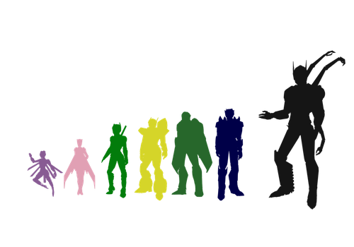 TF Characters Size Comparison [WIP] by Kya-Valentine