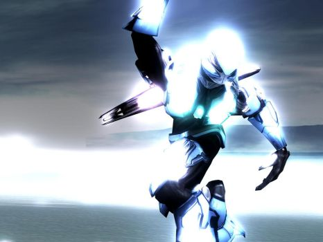 Azul Lunge by Halo-3-Wallpaper-Man