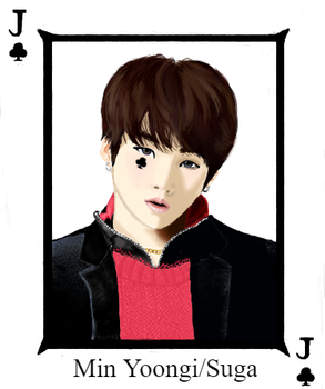 Jack of Clubs - Suga by Anime-Wolf35
