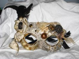 Steampunkish Mask by wee-free-fayries