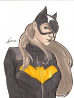 Batgirl sketch by Marc-F-Huizinga