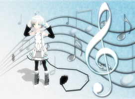 Piko and Music Notes by TwilightAnimeLife