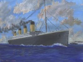 RMS Olympic, 1911 by rhill555
