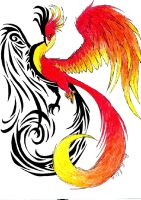 One Phoenix, Two Souls by Auralous
