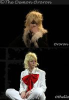 Ororon cosplay - on stage by Gwan-chan