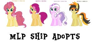 MLP Ship Adopts #1 by NikkiKittyx