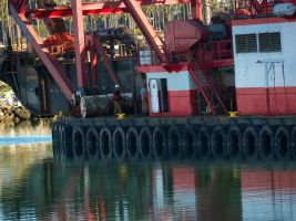 Tires on a Boat by anniemae04