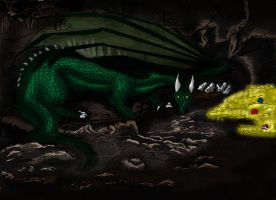 Green Dragon by Wildfrost24