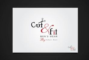 Cut and Fit logo by shehbaz