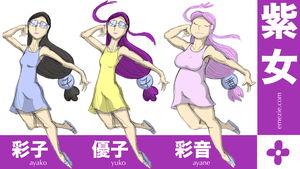 The Murasaki Gals by Emezie