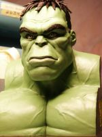 Hulk bust by JIM-SWEET