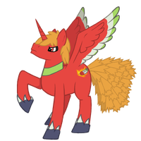 Ponystyle Ho-oh by EvolifanNo1