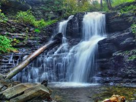 Ricketts Glen State Park 19 by Dracoart-Stock