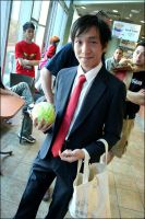 Persona 4 Cosplay: Tohru Adachi by euthanasian