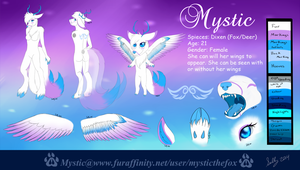 Mystic's 2014 Reference Sheet by MysticTheFox23