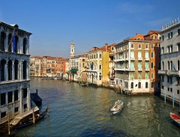 Venice - View from Rialto by AgiVega