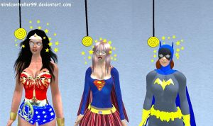 Hypno Superheroine Collection by The-Mind-Controller