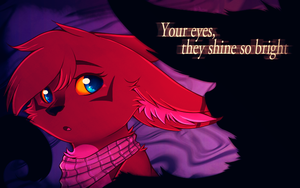 Your Eyes They Shine So Bright by CrispyCh0colate
