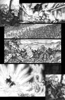 Scavenger Lands comic page by MelUran