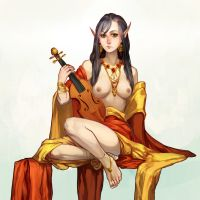 Fiddle the diddle violin by PuddingPack