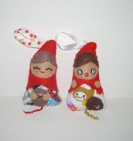 Little Red Riding Hood Dotee Dolls by kiddomerriweather