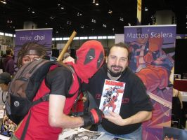 C2E2 4-15-12 The Guy That makes me look good! by Darth-Slayer