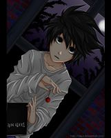 Lawliet of Deathnote by Claui