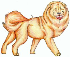 Chow Chow Love by TheSolitarySandpiper