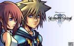 Sora and Kairi HD Wallpaper by UxianXIII