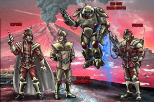 Time Lord Army Concept. by DarkAngelDTB