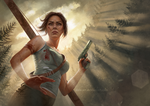 Tomb Raider by Aida-Art