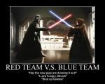Red vs Blue Team by Fedorian-Class