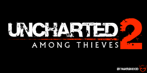 UNCHARTED 2 among thieves LOGO by MARSHOOD