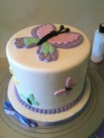 Little Butterfly Cake by Spudnuts