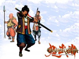 Onimusha Wallpaper by decay-designs