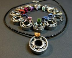 Bearing pendants by ArjasUni