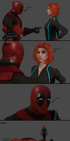 Marvel Texverse Comic 1 by AppokalipsSurvivor